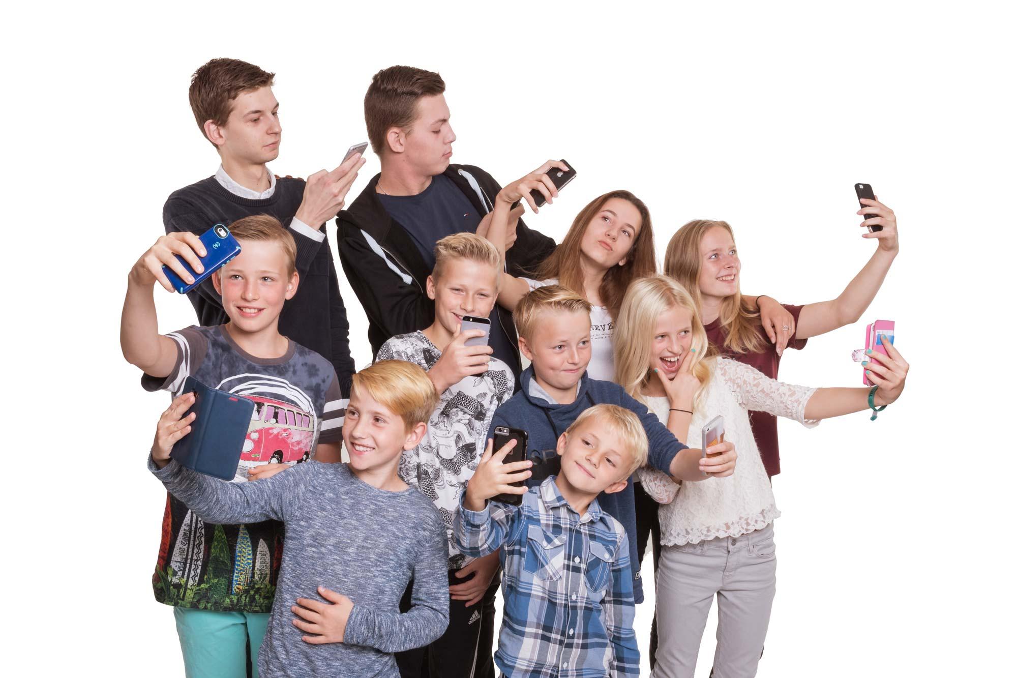 Familieportræt af hele familien, den perfekte gave